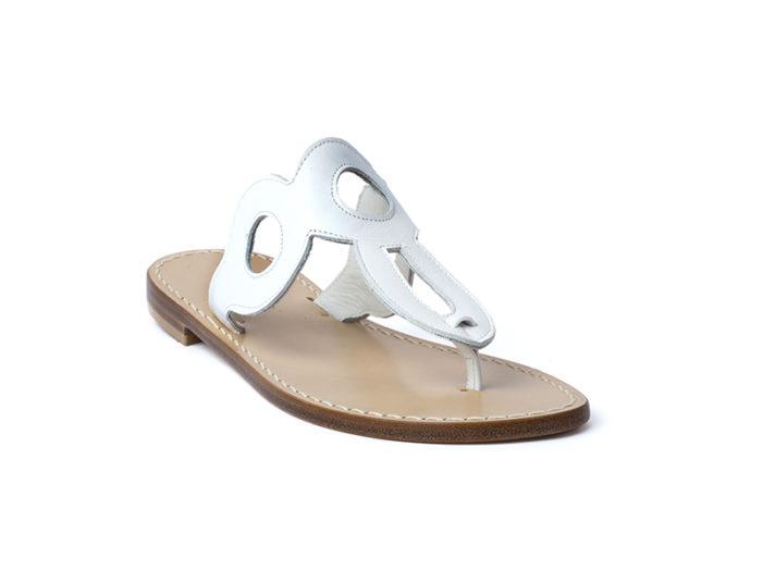 Sandalo Amalfi bianco