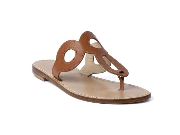 Sandalo Amalfi Cuoio