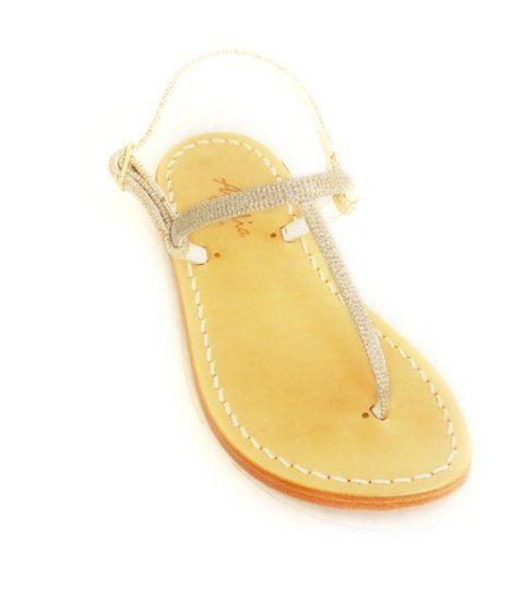 Sandalo Bambina Palau Glitter Argento