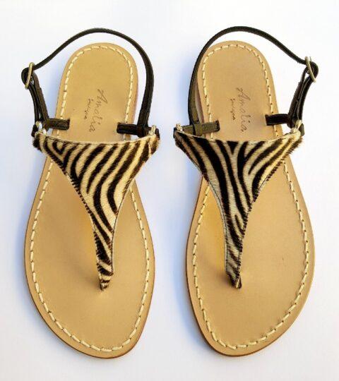 Sandalo Carloforte Zebra